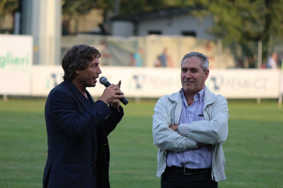 Diego Dominguez in campo per il Rugby Day